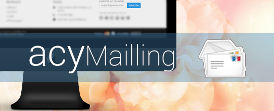 joomla 3 template supports acymailing